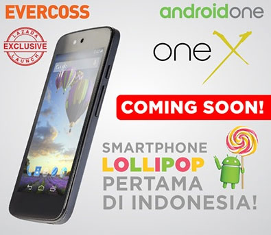 Evercoss One X Android One