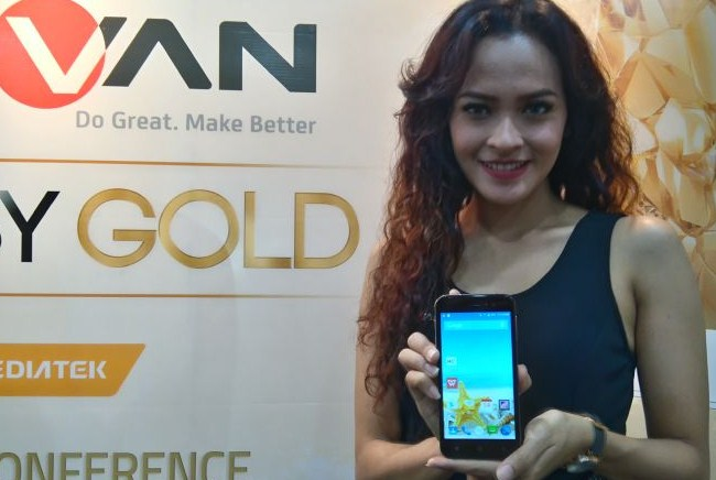 Advan i5A Glassy Gold