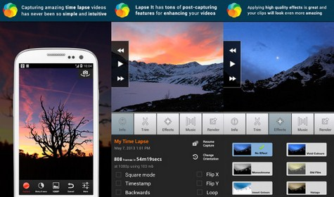 Cara Membuat Video Time Lapse Menggunakan Lapse It di Android